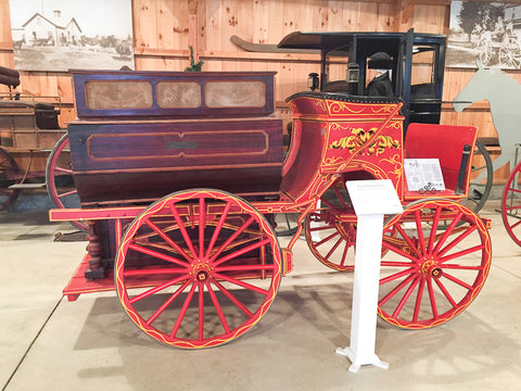 Piano Delivery Wagon at Skyline Farm Museum