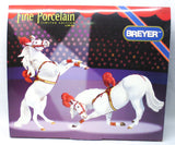 Circus Ponies in Costume - Breyer Gallery Porcelains
