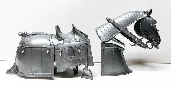 Silver Armor for Valor, the Silver Knight's Horse