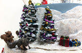 2005 Snow Globe ~ Santa's Little Helpers (Sale supports Harvest Hills Animal Shelter) - triple-mountain
