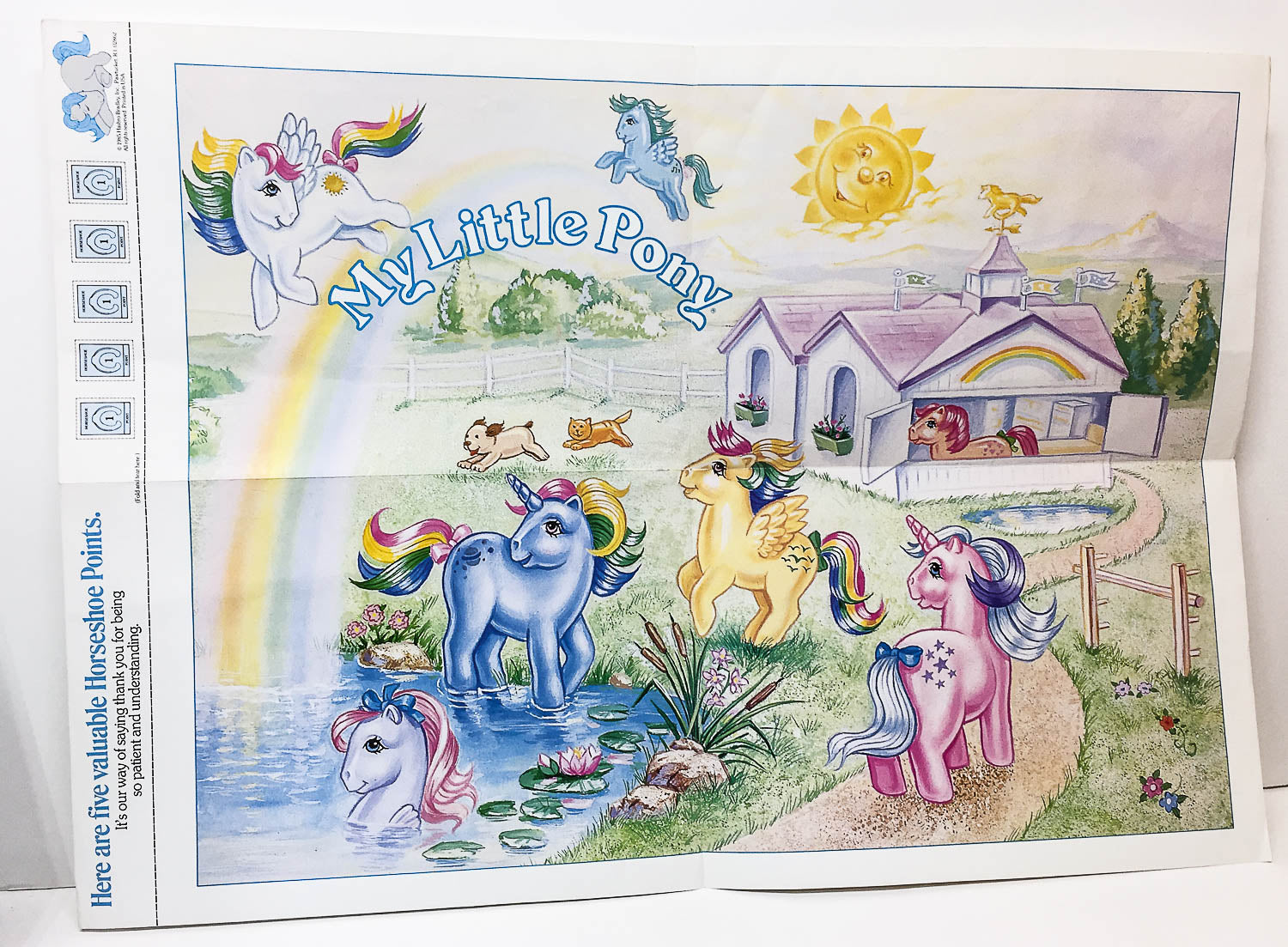 My Little Pony Collector's Poster - 1980s (Sale supports Harvest Hills Animal Shelter)