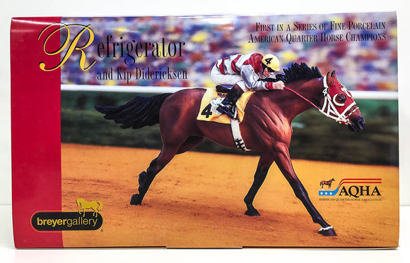 Refrigerator - Champion Quarter Horse -Breyer Porcelain (Sale supports Harvest Hills Animal Shelter)