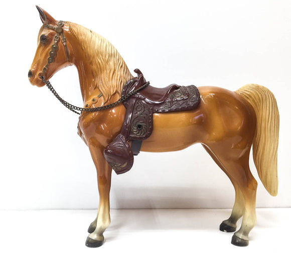 Western Horse, Palomino - Dark Version, pre-1970
