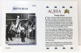 Ideal Quarter Horse ~ Pretty Buck Bio Card