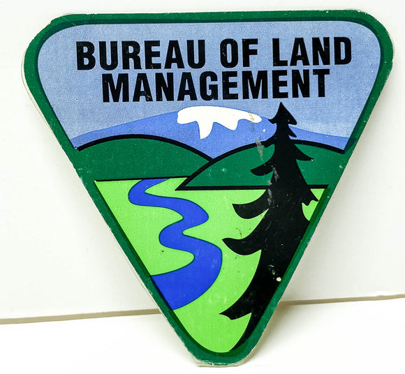 Box Sticker: Bureau of Land Management (Sombra ~ Runaway)
