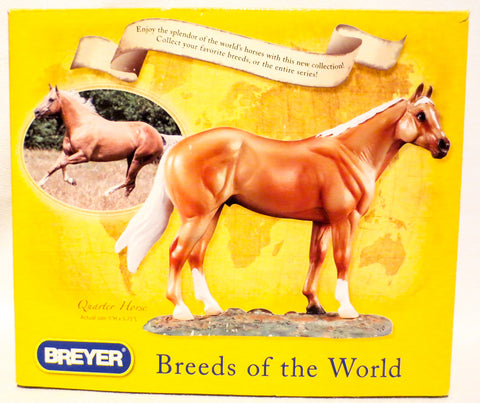Quarter Horse, Breeds of the World Series w/Box