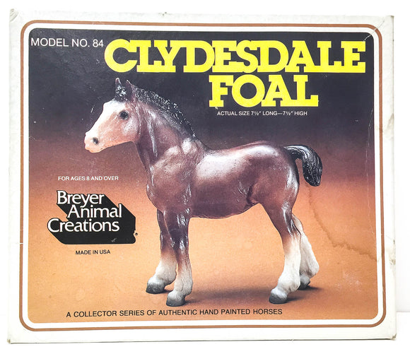Box:  Clydesdale Foal