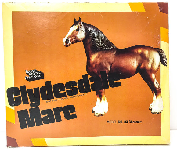 Box:  Clydesdale Mare