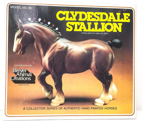 Box:  Clydesdale Stallion