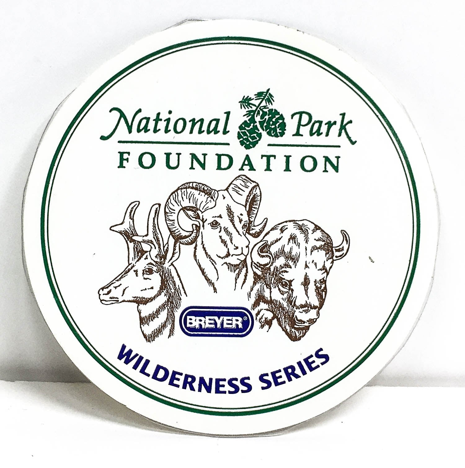 Box Sticker: National Park Foundation Wildlife Series