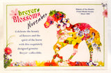 Warmblood Mare - Blossoms Collection:  November ~ Chrysanthemum