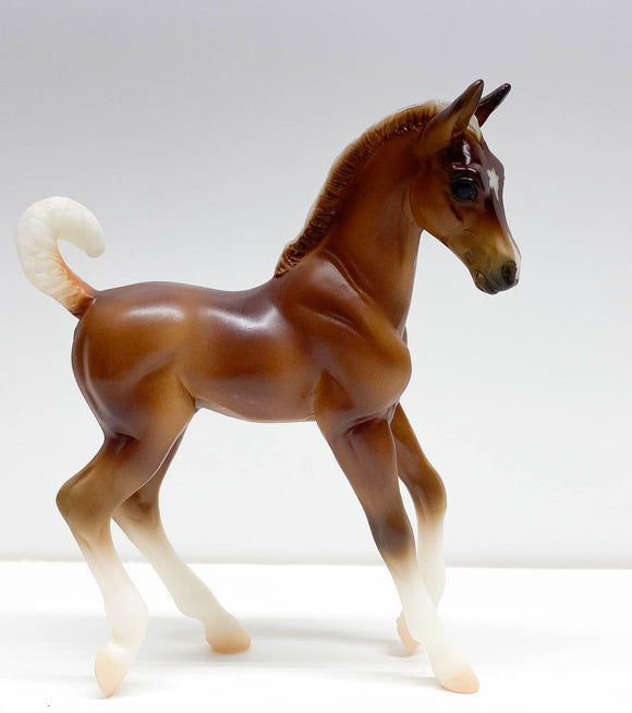 Trotting Stock Horse Foal, Palomino from Pet Groomer Set