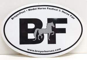 Decal - Breyerfest with Rejoice Saddlebred - triple-mountain