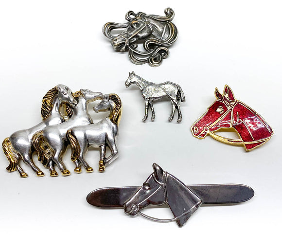 Horse Jewlery Lot