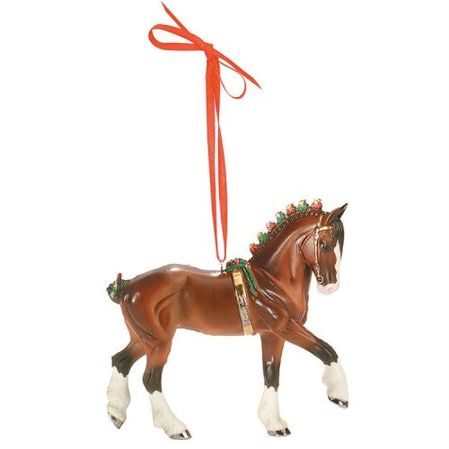 2008 Beautiful Breeds Christmas Ornament, Clydesdale NRFB