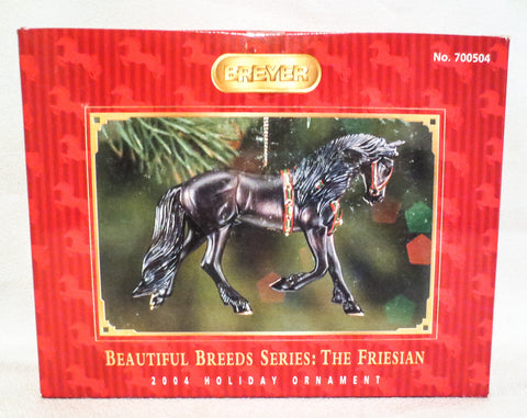 2004 Beautiful Breeds Christmas Ornament, Friesian