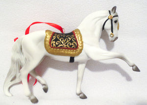 2009 Beautiful Breeds Christmas Ornament, Andalusian w/Box