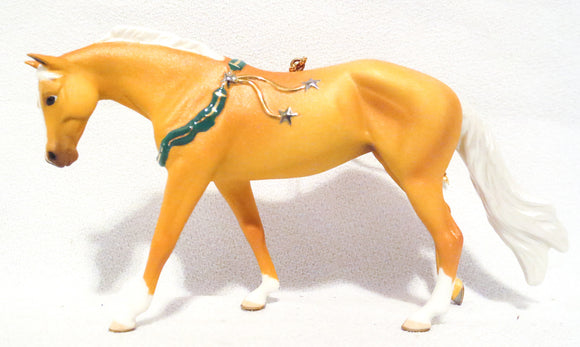 2006 Beautiful Breeds Christmas Ornament, American Quarter Horse w/Box - triple-mountain