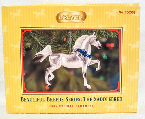 2005 Beautiful Breeds Christmas Ornament, Saddlebred