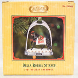 2005 Holiday Stirrup Christmas Ornament, Della Robbia w/Box - triple-mountain