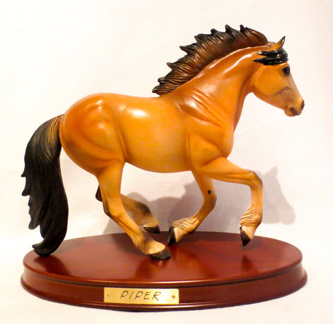 Piper, Highland Pony - Breyer Gallery Model