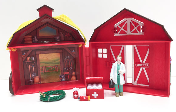 Pocket Barn & Accessories w/ Vet