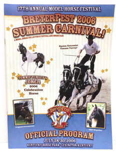 2006 Breyerfest Program - Summer Carnival