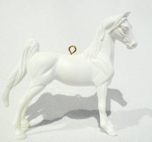 American Saddlebred, Unpainted Ornament - triple-mountain