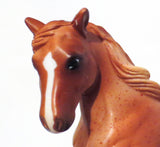 Clydesdale, Red Roan - Gentle Giants Gift Set - triple-mountain
