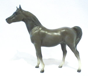 Arabian Stallion, Grey VARIATION: Grey Unglossed Eyes