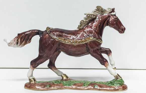 Trinket Box, Galloping Horse