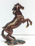 Trinket Box, Rearing Horse w/ Matching Necklace