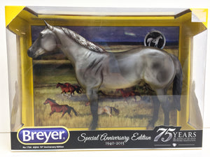 Ideal Quarter Horse, Grulla - AQHA 75th Anniversary Edition