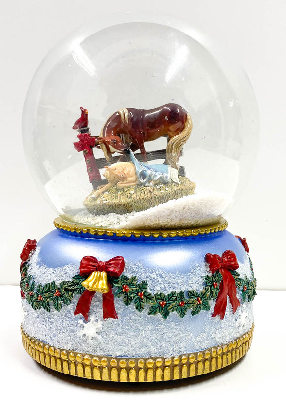 2006 Snow Globe ~ Holy Night aka Silent Night