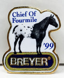 Lapel Pin - 1999, Chief of Fourmile