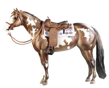 Cimarron Western Pleasure Saddle - triple-mountain