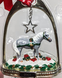 2001 Holiday Stirrup Ornament ~ Jingles - triple-mountain