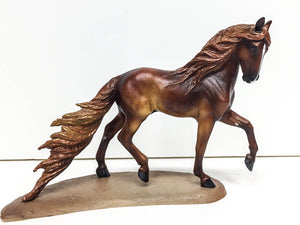 Trotting Andalusian - Dramatic Custom by Nan Wagner