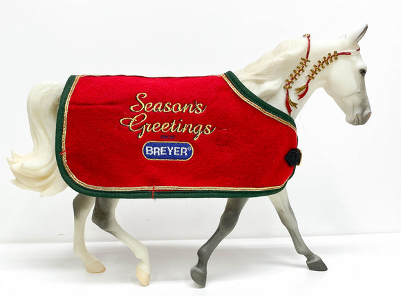 Missouri Fox Trotter ~ Snowflake, 1998 Holiday Horse