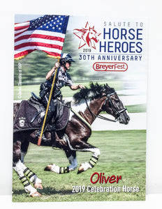 Breyerfest Collector's Card - 2019, Oliver
