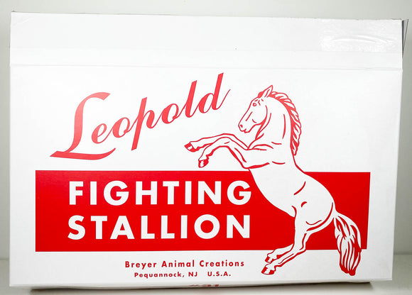Box:  Fighting Stallion ~ Leopold