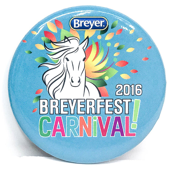 Button - Breyerfest 2016, Carnival - Blue