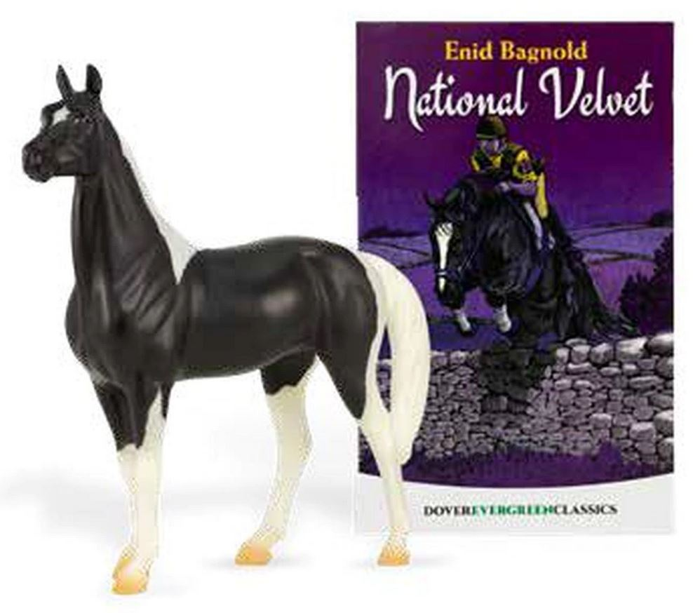 Standing Thoroughbred ~ National Velvet - Book and Model Set
