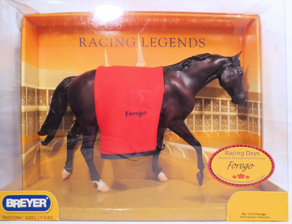 John Henry ~ Forego, Racing Legend w/ Blanket