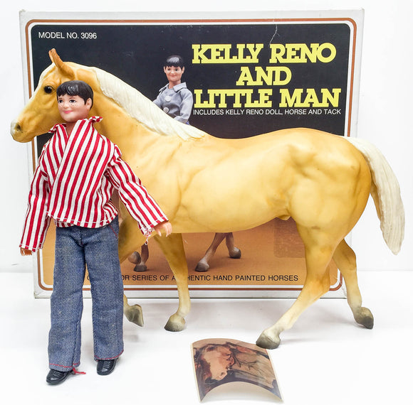 Stock Horse Stallion ~ Kelly Reno and Little Man set w/ Box