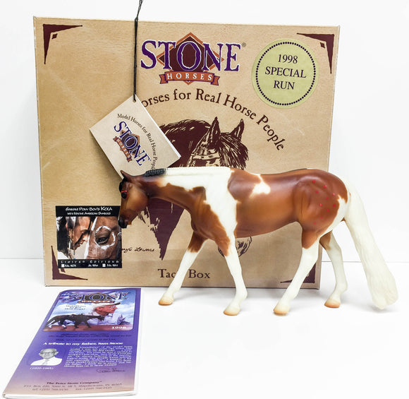 Western Pleasure Horse ~ Kola II - Double Signed, w/ Box