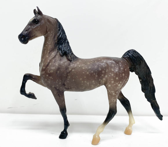 American Saddlebred, Dapple Grey - Factory Oopsie?