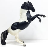 Fighting Stallion, Black Pinto - Sears SR