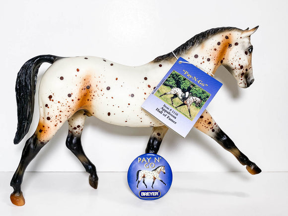 Hanoverian ~ Pay-N-Go W/ Hangtag and Button