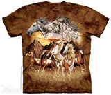 Horse T-Shirts - ADULT size SMALL (choose your design)